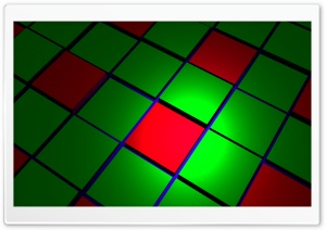 Green  Red Cubes