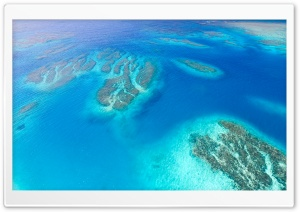 Coral Reef Aerial View