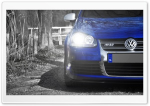 Volkswagen Golf R32 Blue