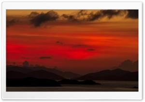 Caribbean Sea Sunset