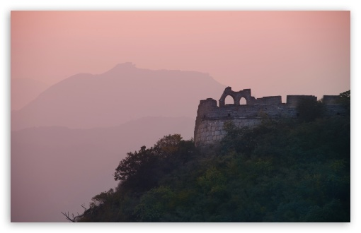 Download Great Wall In The Evening Light UltraHD Wallpaper