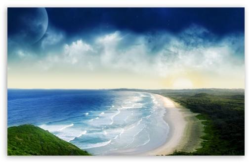 Download Wild Beach UltraHD Wallpaper