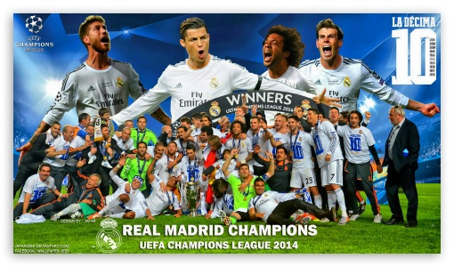 Download Real Madrid Winners Champions League 2014 UltraHD Wallpaper