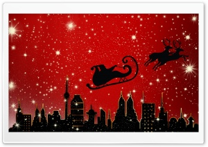 Santa Claus is Coming to City