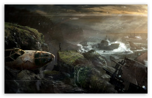 Download Tomb Raider 2012 - Shipwreck UltraHD Wallpaper