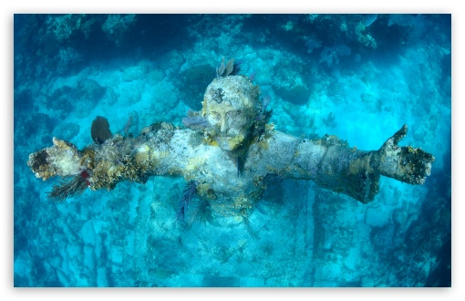 Download Christ of the Abyss UltraHD Wallpaper