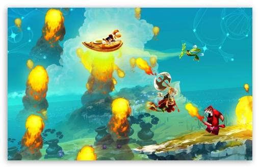 Download Rayman Legends Shield Fly UltraHD Wallpaper
