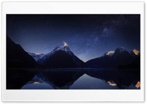Mountain Milky Way by Yakub...