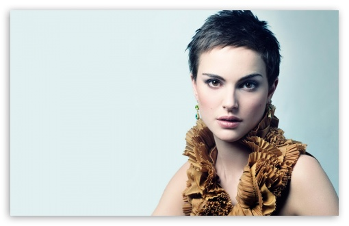 Download Natalie Portman Short Hair UltraHD Wallpaper