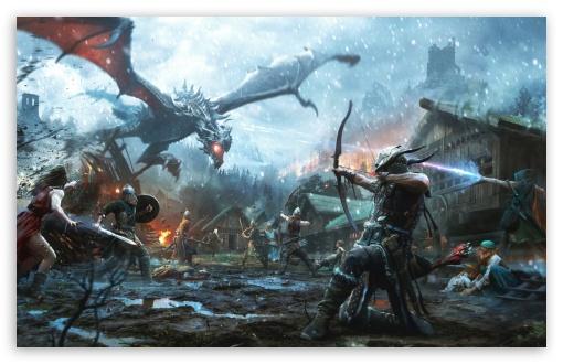 Download The Elder Scrolls Legends, Heroes of Skyrim UltraHD Wallpaper