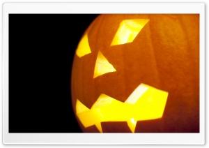 Creepy Halloween Jack o lantern