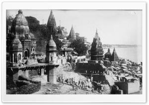 Benares Varanasi, India 1922