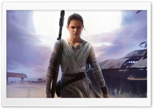 Rey Star Wars The Force