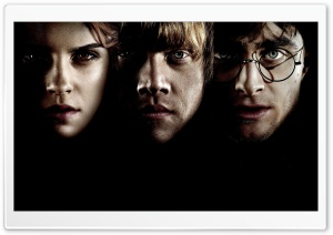 Hermione, Ron And Harry Potter