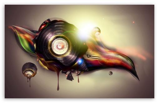 Download Vinyl Art UltraHD Wallpaper