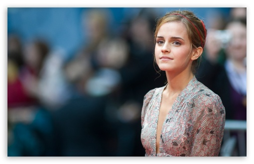 Download Emma Watson Harry Potter Premiere UltraHD Wallpaper