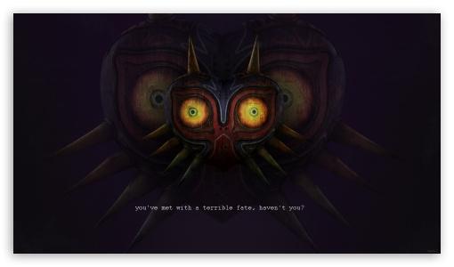 Download Majoras Mask UltraHD Wallpaper