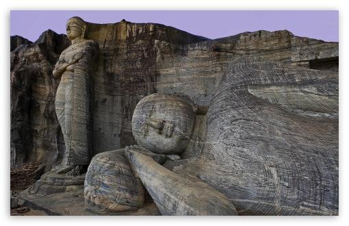 Download Sri Lanka, Polonnaruwa City, The Ancient UltraHD Wallpaper