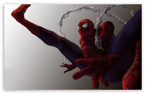 Download Spiderman Artwork UltraHD Wallpaper
