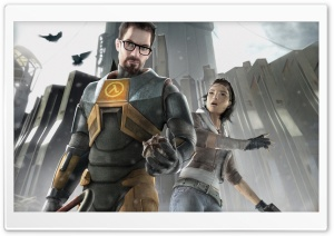 Half-Life 2 - Gordon and Alyx