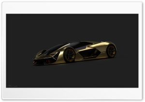 Lamborghini terzo millenio 4K...