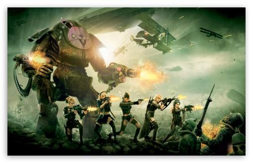 Download Sucker Punch Battle Scene UltraHD Wallpaper