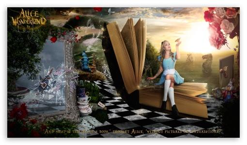 Download Alice in Wonderland 2016 UltraHD Wallpaper