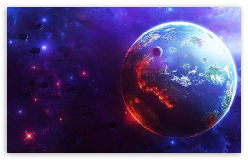 Download Star Wars Fiction Planet UltraHD Wallpaper