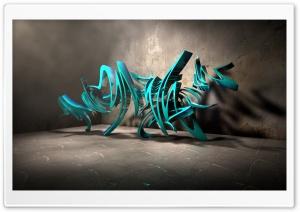 3D Graffiti Background III