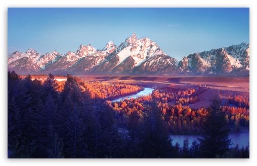 Download Winding River UltraHD Wallpaper