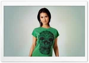 Girl In A Green Shirt