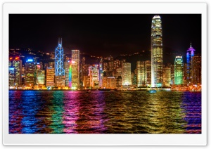 A Symphony of Lights Hong Kong