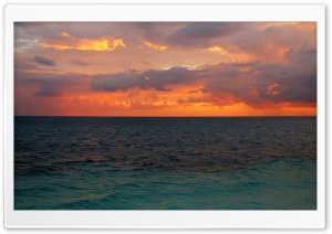 Orange Sky Beach