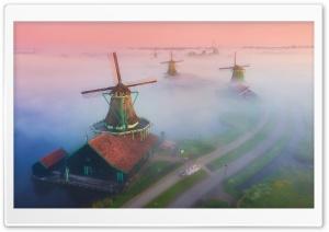 Netherlands Famous Windmills...