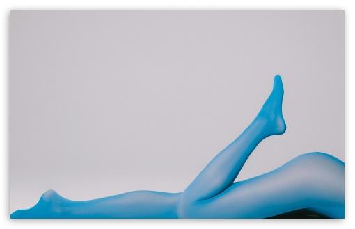 Download Blue Legs UltraHD Wallpaper