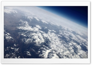 Over the Rocky Mountains...