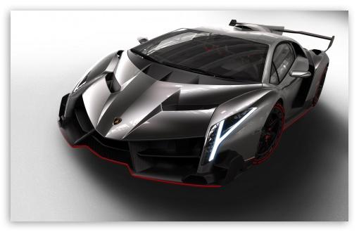 Download 2013 Lamborghini Veneno Car UltraHD Wallpaper