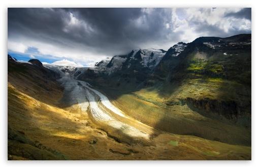 Download Continental Glacier Landscape UltraHD Wallpaper