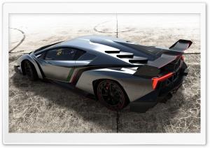 2013 Lamborghini Veneno Top View