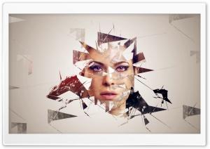 Girl with Broken Glass