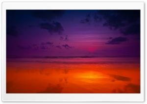 Beach Dramatic Sky