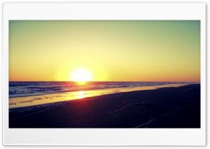 Monte Hermoso Sunset
