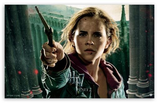 Download HP7 Part 2 Hermione UltraHD Wallpaper