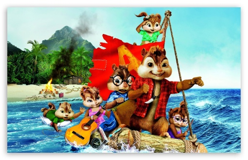 Download Alvin and the Chipmunks Chipwrecked (2011) UltraHD Wallpaper