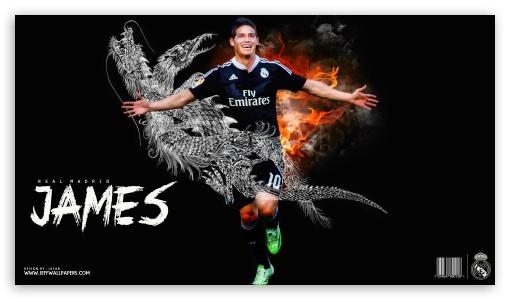 Download James Rodriguez Real Madrid UltraHD Wallpaper