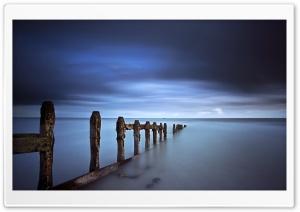 Evening Blue Sea