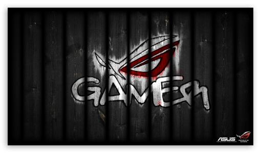 Download Asus Republic Of Gamers - Graffiti UltraHD Wallpaper