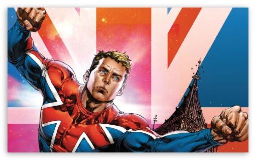 Download Captain Britain UltraHD Wallpaper