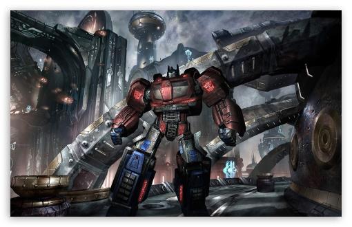 Download Transformers War For Cybertron UltraHD Wallpaper