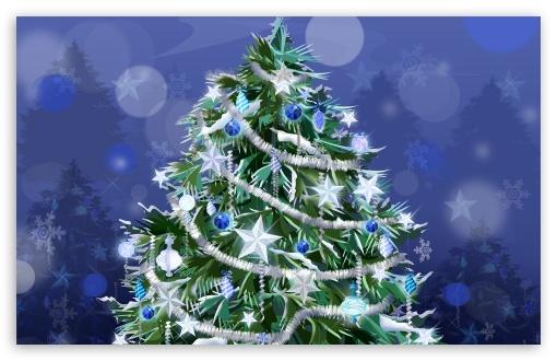 Download Holiday Tree New Year UltraHD Wallpaper